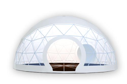 Geodesic tents - event dome